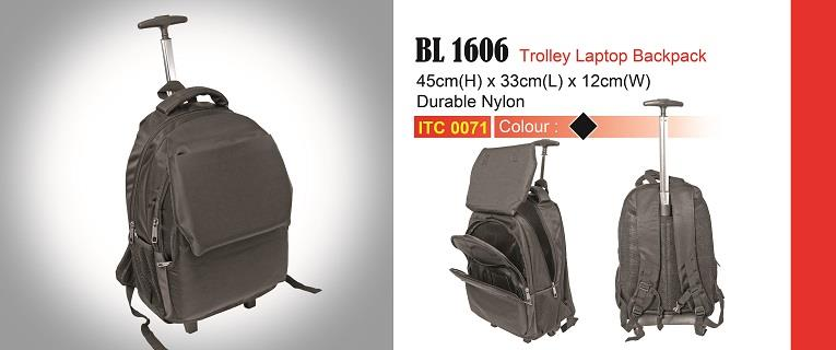 Trolley Laptop Backpack BL1606