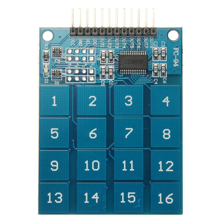TTP229 16 Channel Digital Capacitive Switch Touch Sensor For Arduino