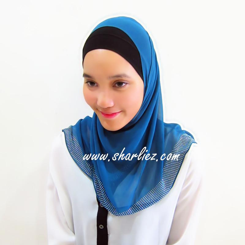 Tudung & Shawl diamond beads 3
