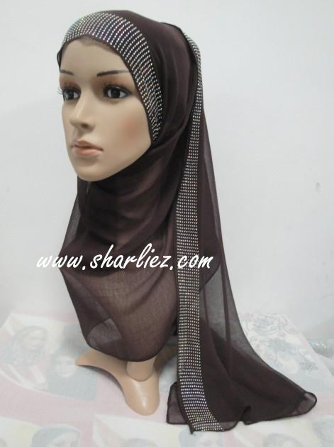 Tudung & Shawl diamond beads