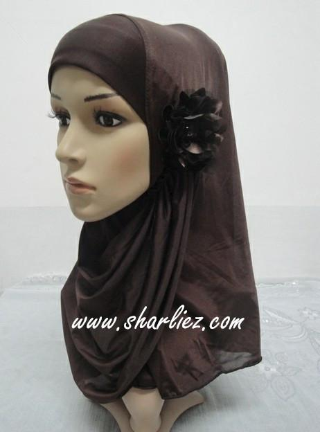 Tudung & Shawl flower 2