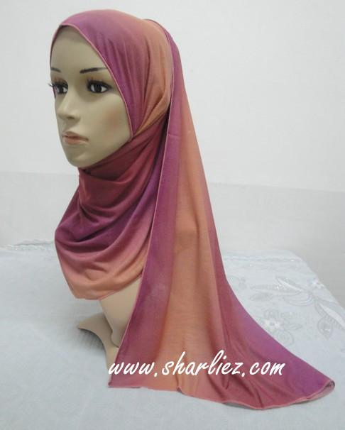 Tudung & Shawl mixed colour multi colour