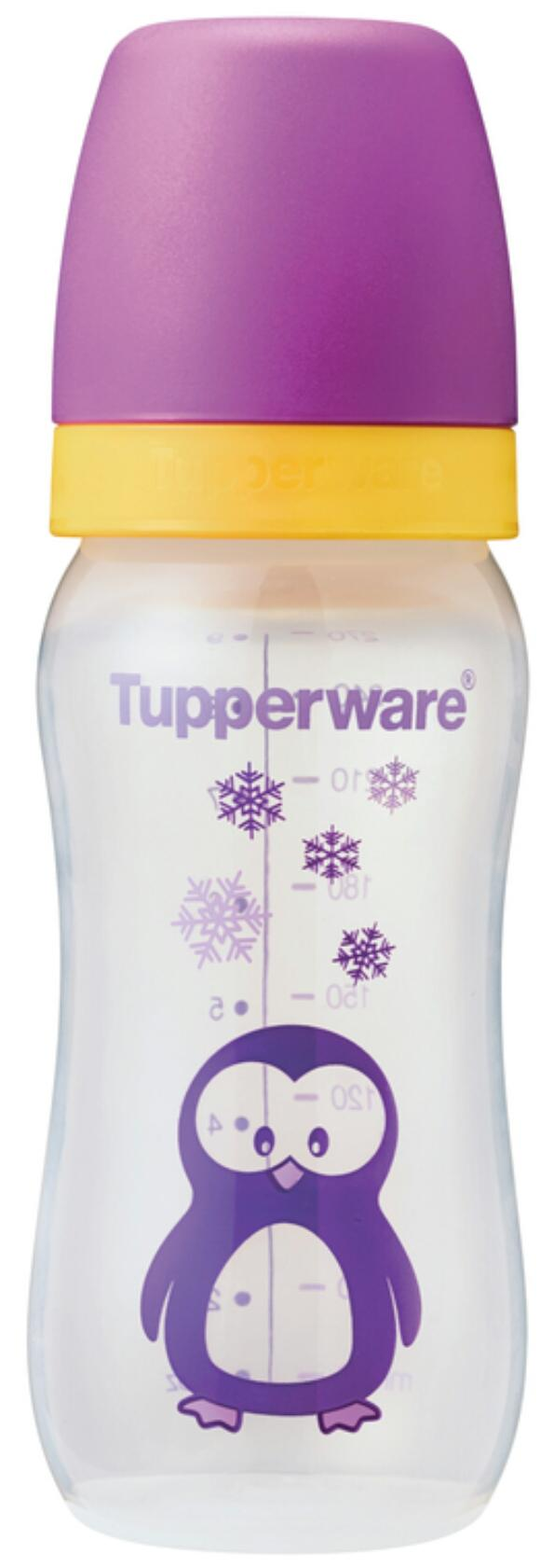 Tupperware Baby Bottle Penguin With Teat (1) 9 oz