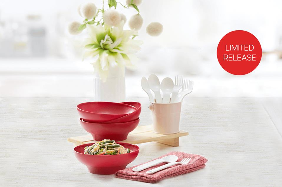 Tupperware Cherry Bowl (4) - Oversea Stock