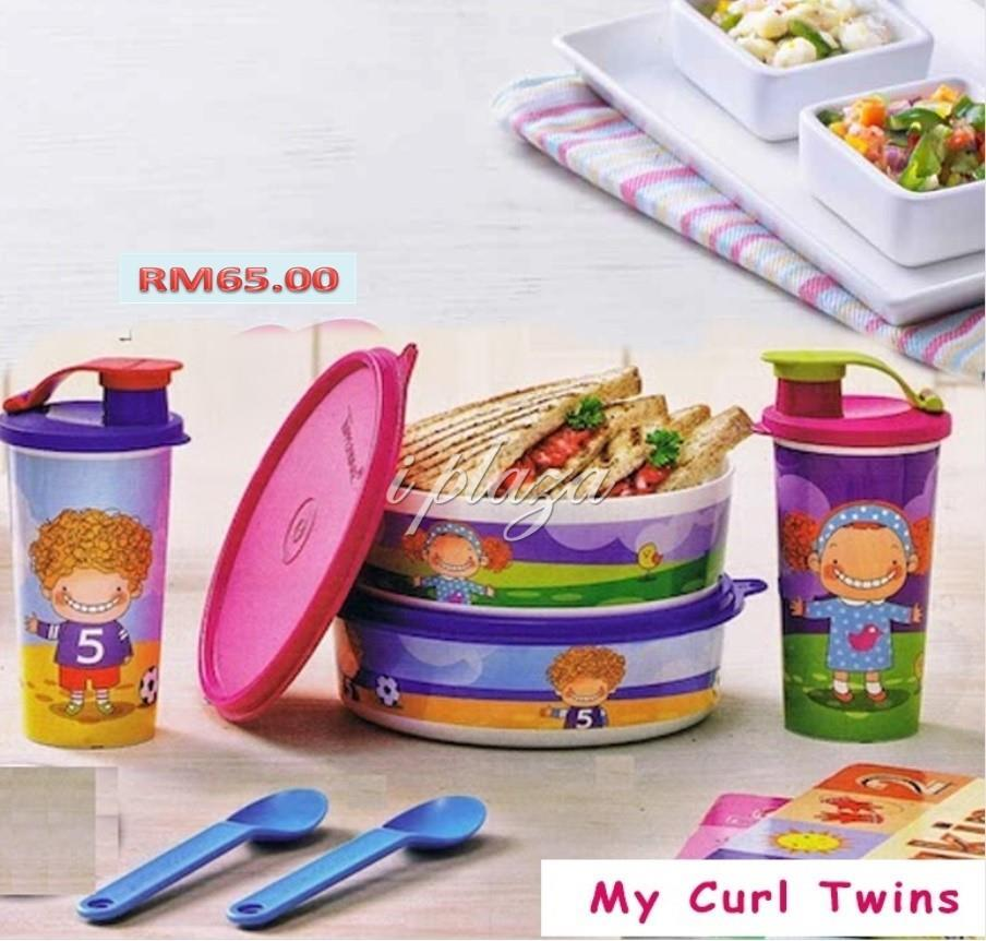 Tupperware Curly Twin Set