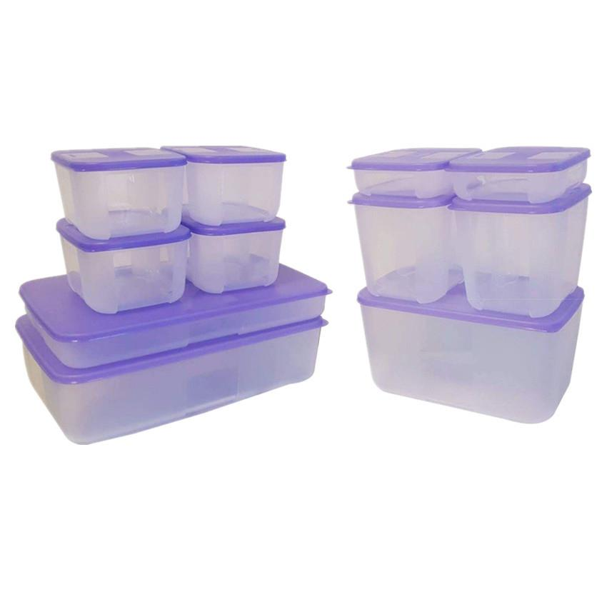 Tupperware Freezermate Bliss Set ( Buy 6 Free 5 ) with 1 gift box