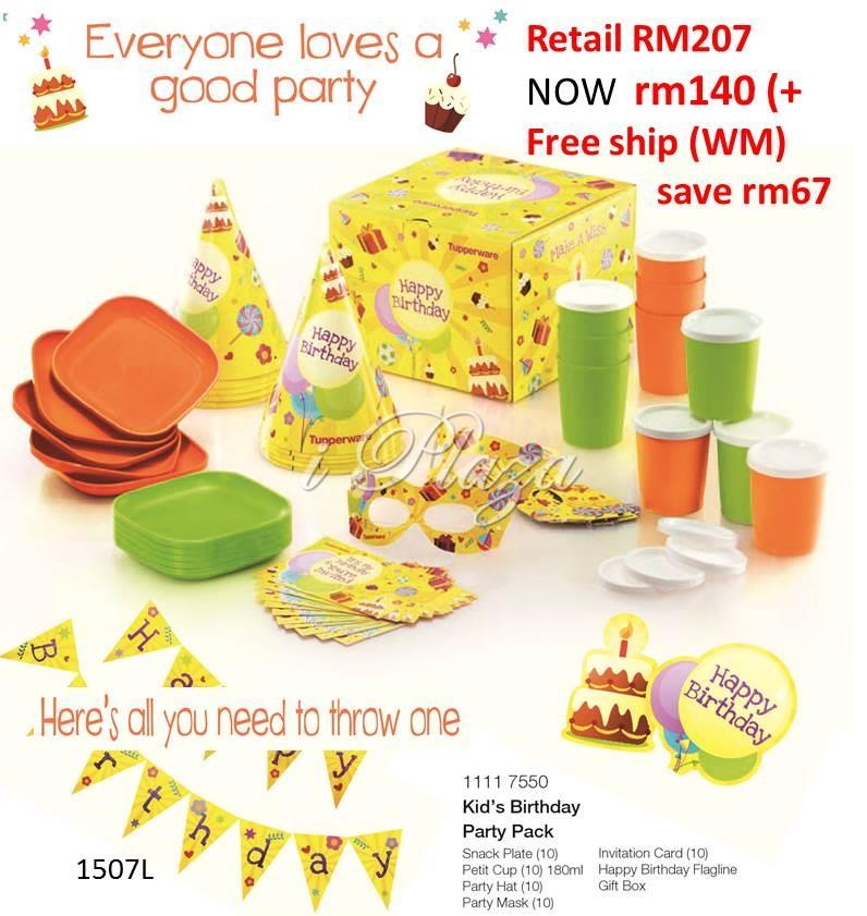 Tupperware Kid Party Set end 10212016 1115 PM – Tupperware Party Invitation