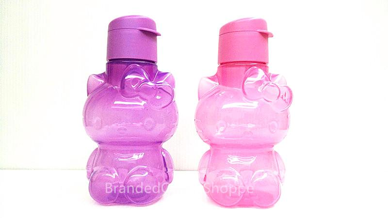 TUPPERWARE Sanrio Hello Kitty Eco Bottle Flip Top 425ml Pink & Purple