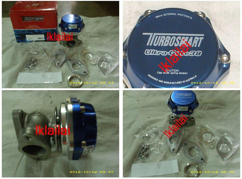 Turbosmart Ultra-Gate 38mm Wastegate with Full Kit