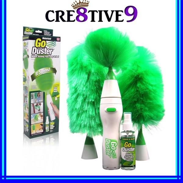 As Seen On TV Go Duster Auto Spinning Duster Green