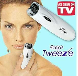 As Seen on TV~ Emjoi Tweeze Hair Removal