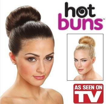 As Seen On TV~Hair Accessories Hot Buns (2pcs)