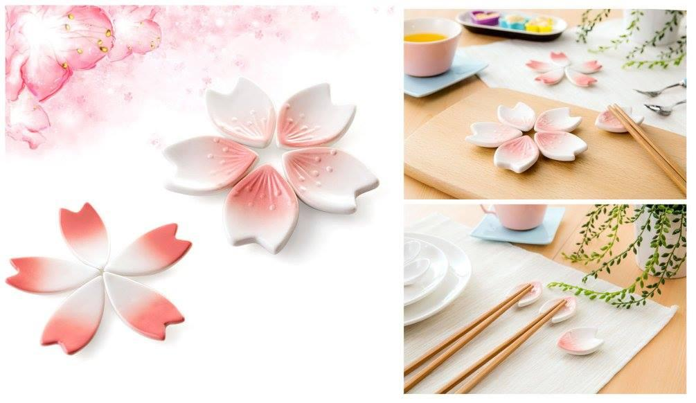 TW0140 CHERRY BLOSSOM CHOPSTICK HOLDER