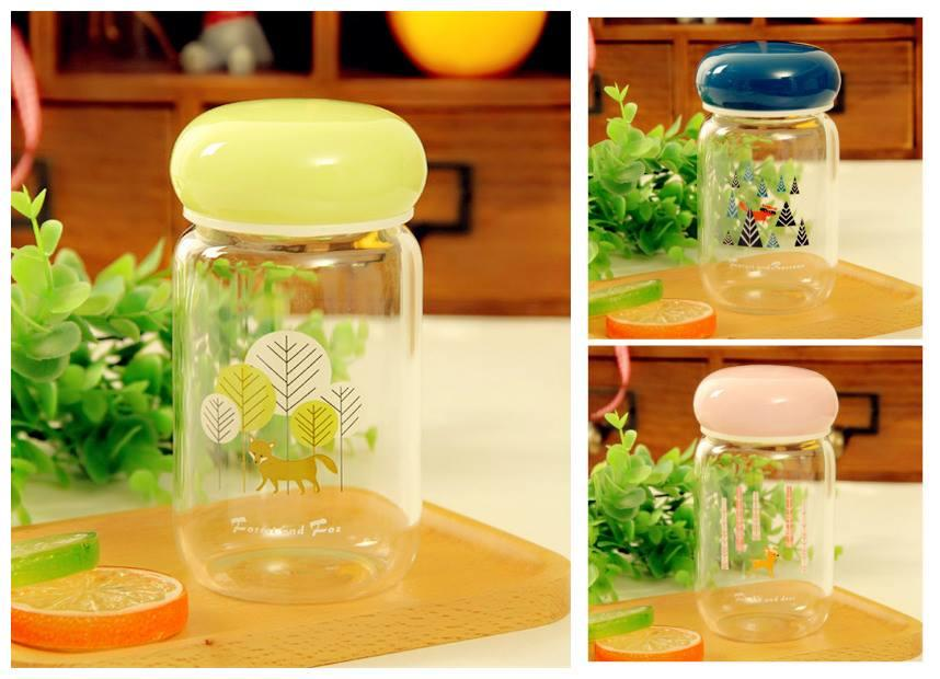 TW0212 CUTIE ANIMAL GLASS CONTAINER