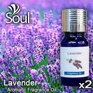 Twin Pack Fragrance Lavender - 10ml