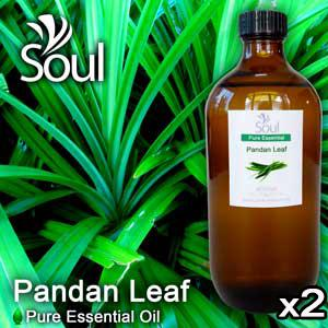 Twin Pack Pure Essential Oil Pandan Leaf - 500ml