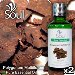 Twin Pack Pure Essential Oil Polygonum Multiflorum - 50ml