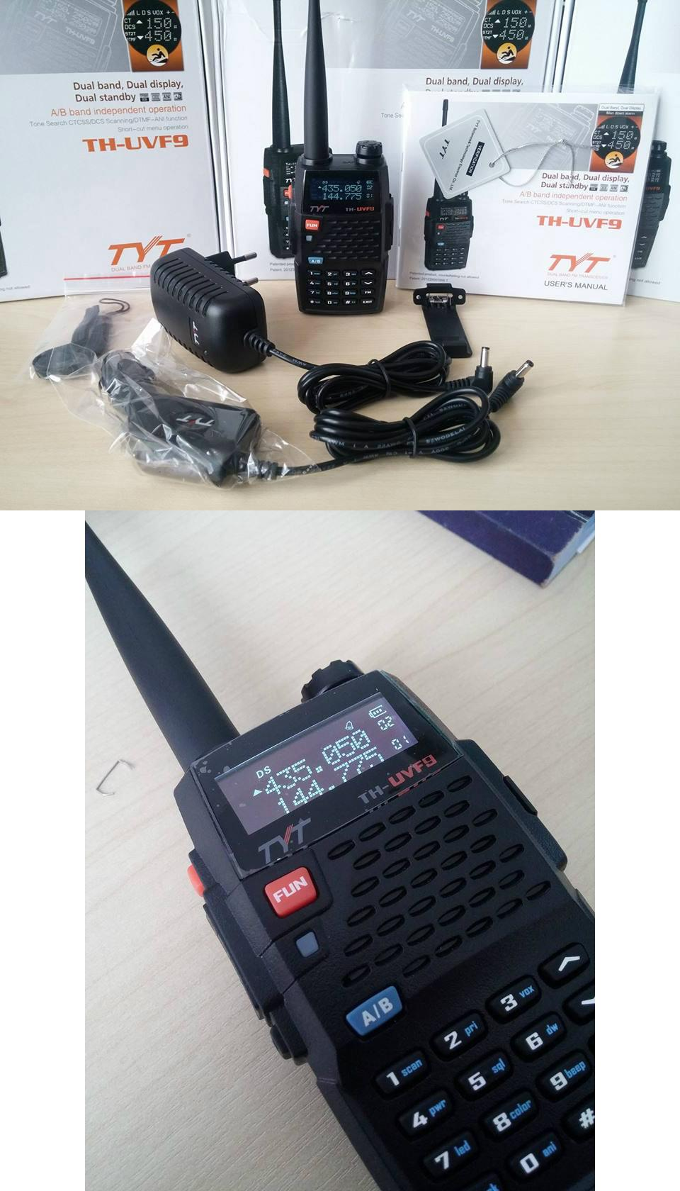TYT TH-F9 Dual Band 7w up to 5KM ORIGINAL! FREE In Car Charger TYT F9