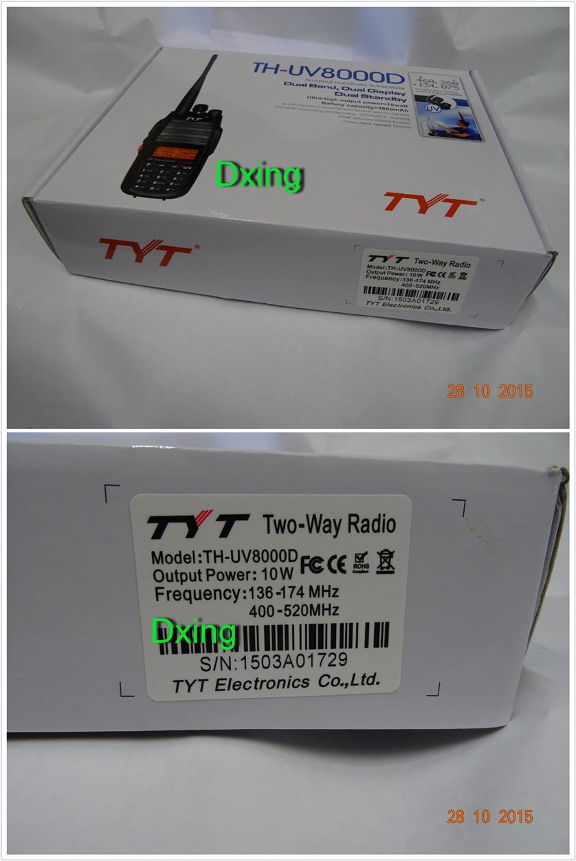 TYT TH-UV8000D Dual Band Tranceiver +Upgrade Cross Band Function