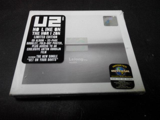 U2 - NO LINE ON THE HORIZON LIMITED EDITION IMPORTED CD