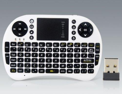 UKB-500-RF 92-Keys 2.4G Wireless Mini Keyboard w Li Battery