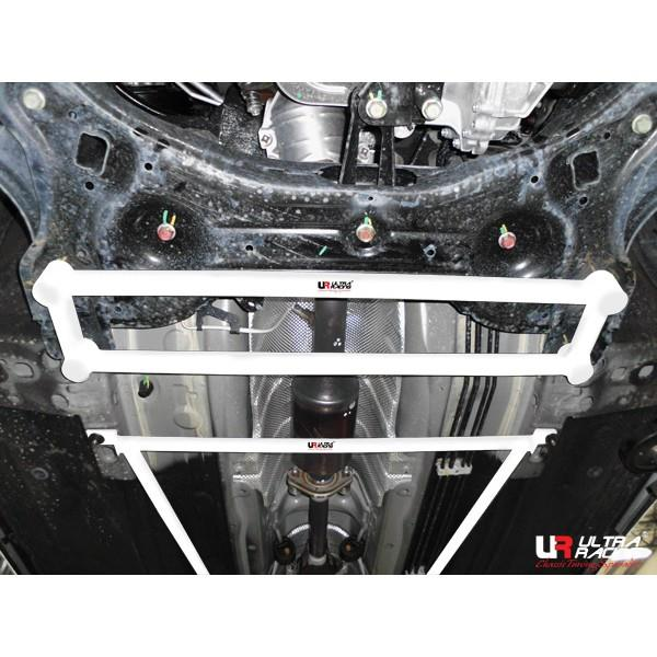 ULTRA RACING 4-Point Front Lower Bar: Nissan Almera 1.5