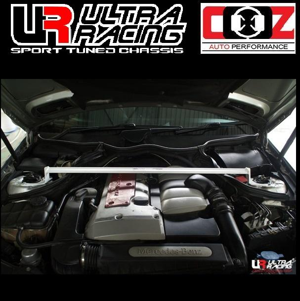 ULTRA RACING FRONT STRUT BAR  MERCEDES C200K (W203) 2.0K 2000