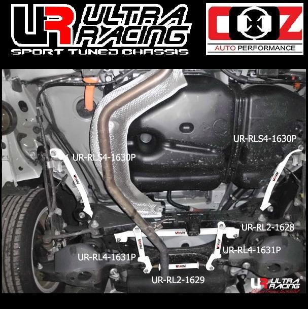 ULTRA RACING REAR LOWER  BAR  LEXUS CT200H 1.8F 2011