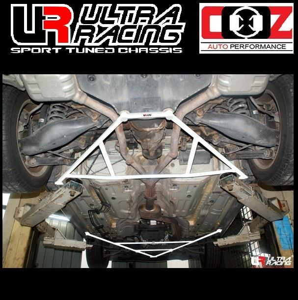 ULTRA RACING REAR  LOWER BAR  MERCEDES SLK 200 (R-171) 2.0K 2004
