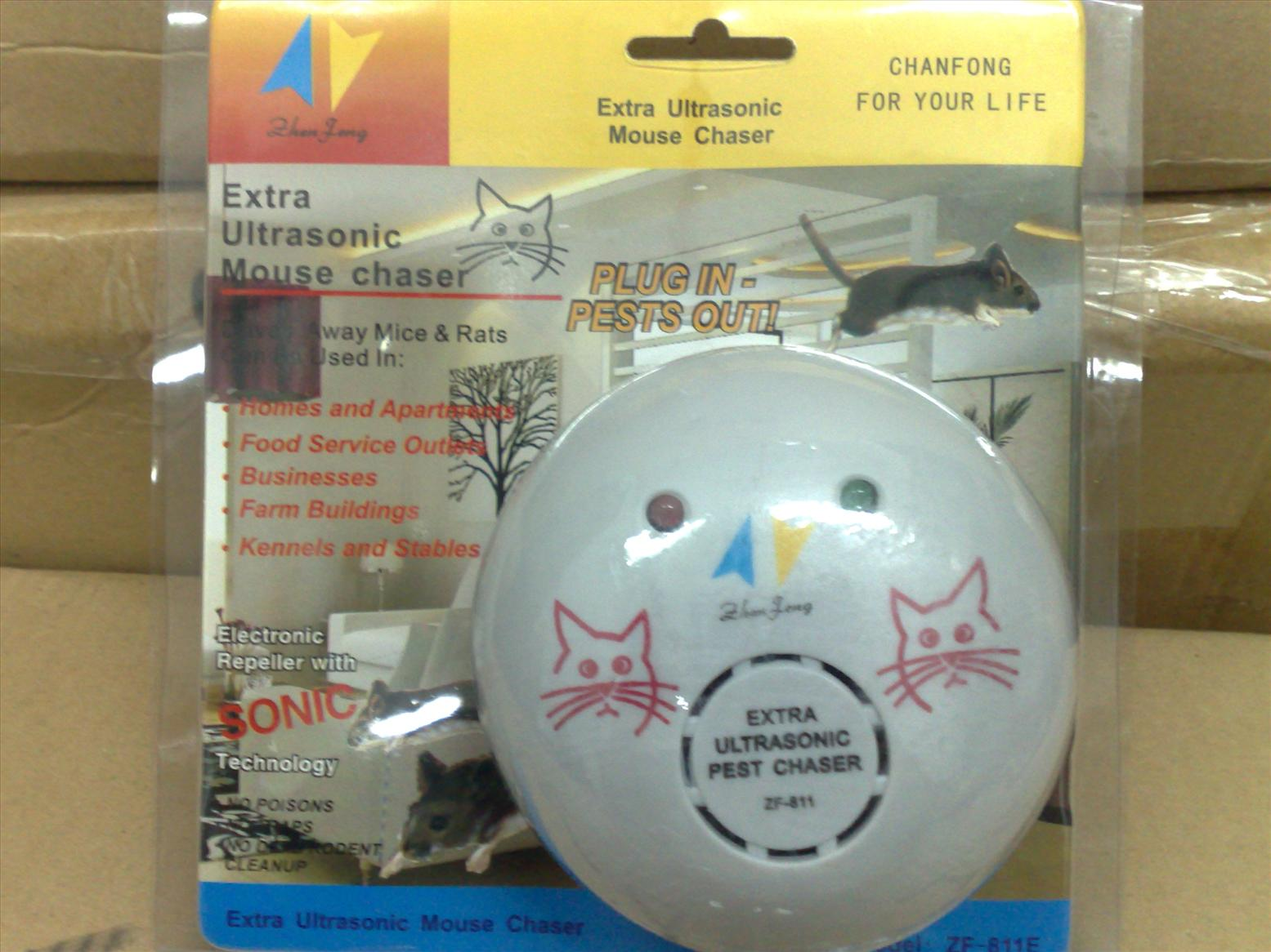 Ultrasonic mouse chaser  012-2670027