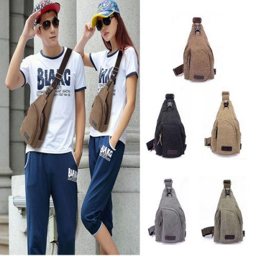 Unisex Military Canvas Satchel Sling (end 6/6/2018 2:18 PM)