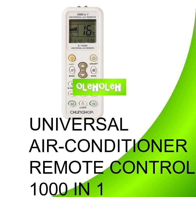 Universal Air-Conditioner Remote Controller 1000 In 1