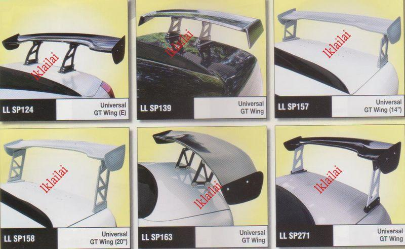Universal GT Wing SPOILER [Please enquiry the actual price before buy]