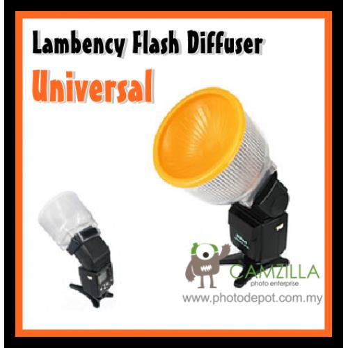 Universal Lambency Flash Diffuser for Canon,Nikon,Sony,Nissin,Yongnuo