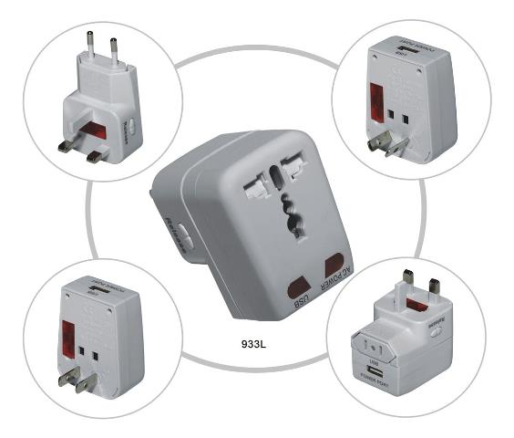 UNIVERSAL TRAVEL ADAPTOR(UTA-998)