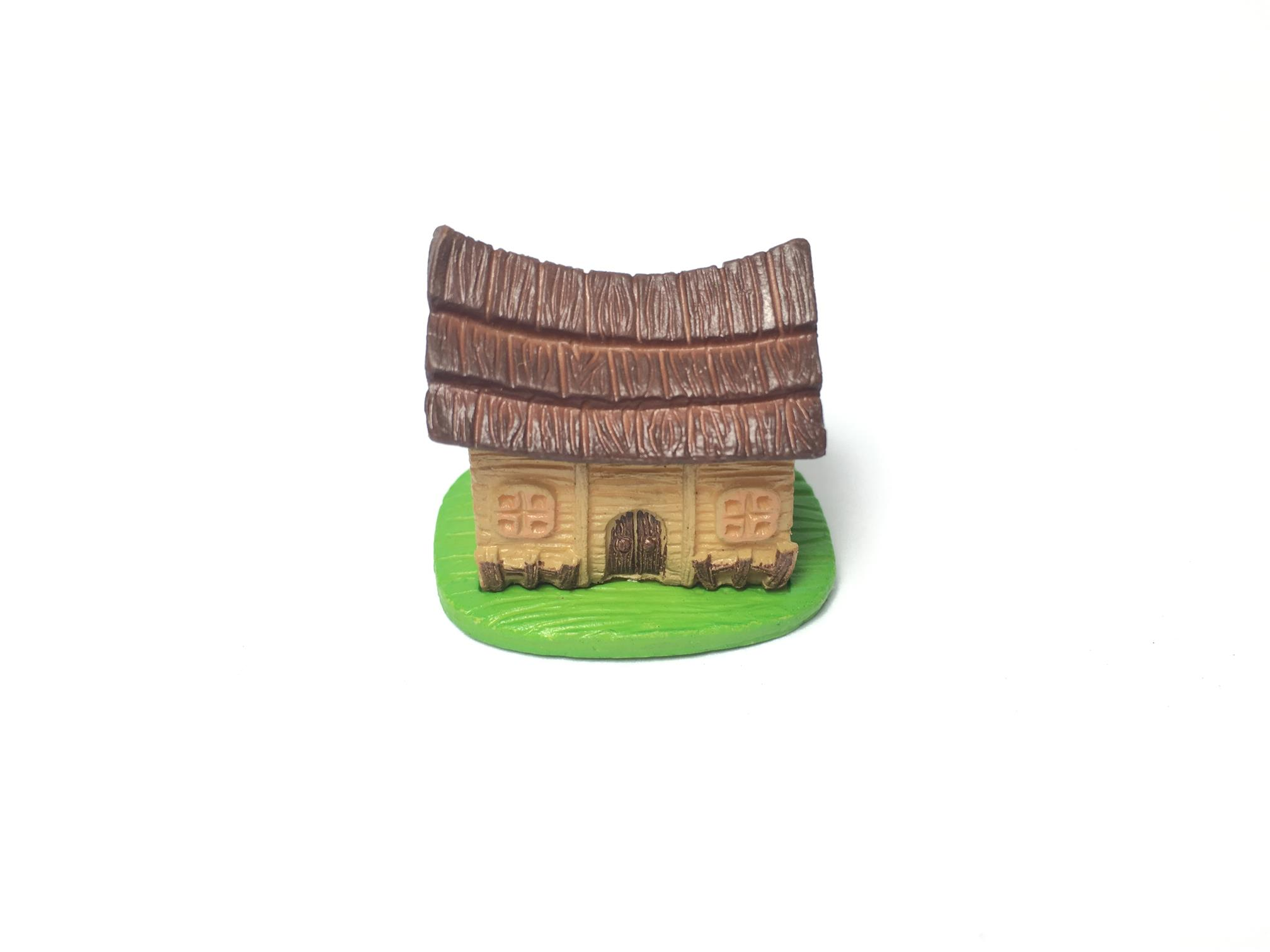 Urban Green Cabin Small House Terrarium / Vivarium Decoration