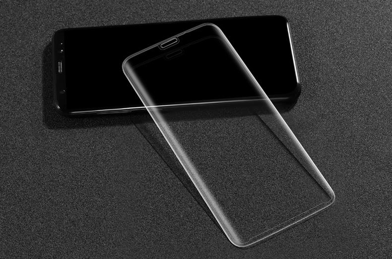 best sneakers 9673e c334d USAMS Samsung Galaxy S8 3D Curved HD clear Tempered Glass