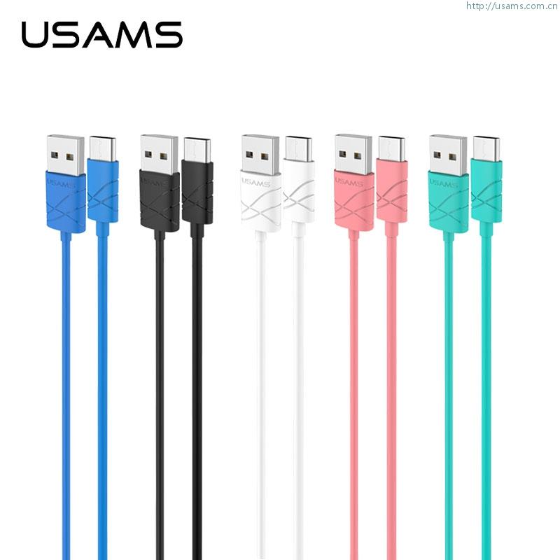 USAMS U-Gee 1 meter USB 2.0 to Type-C Type C USB cable Wire