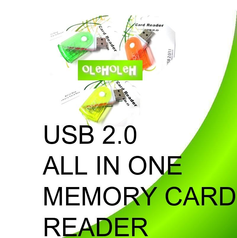 USB 2.0 All In One Memory Card Reader