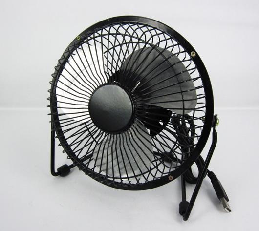 USB Desk Metal Fan 6 inch for Desktop & Laptop