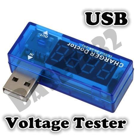 USB Electric Current Voltmeter Power Voltage Tester Charger Doctor