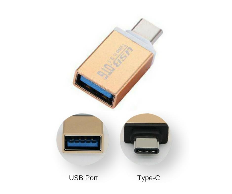 USB OTG Connector Type-C 3.1