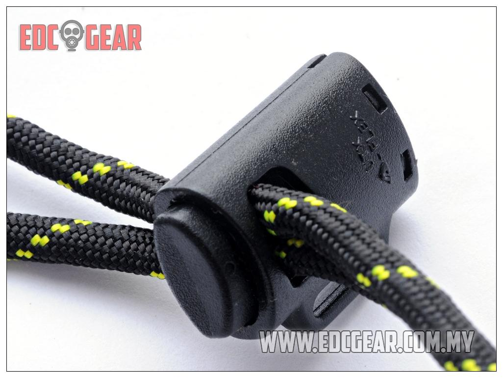 UTX Duraflex Mil Spec 'The Mug Cord Lock' suitable for paracord