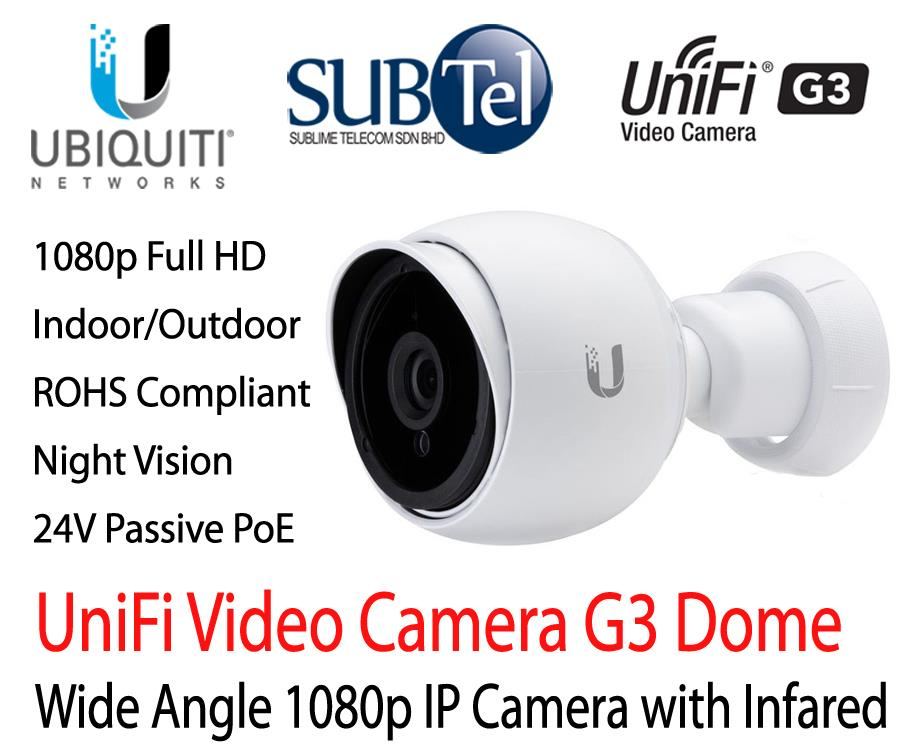UVC-G3 Ubiquiti Unifi Video Camera Outdoor Full HD IP CCTV UBNT 1080p