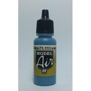 Vallejo Paint Model Air 71.111  UK Mediterrenean Blue