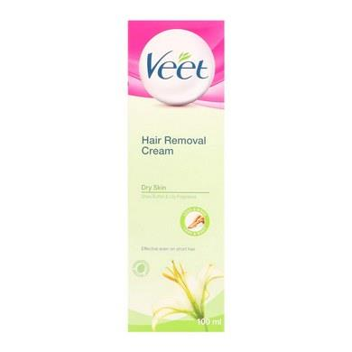 Veet Hair Removal Cream Dry Skin 100ml X 2
