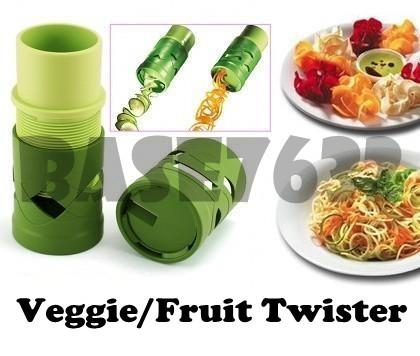 Veggie Fruit Twister Vegetable Processing Cutter Slicer Tool Device