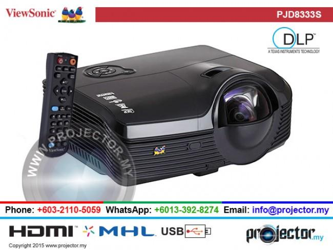 VIEWSONIC PJD8333S Projector