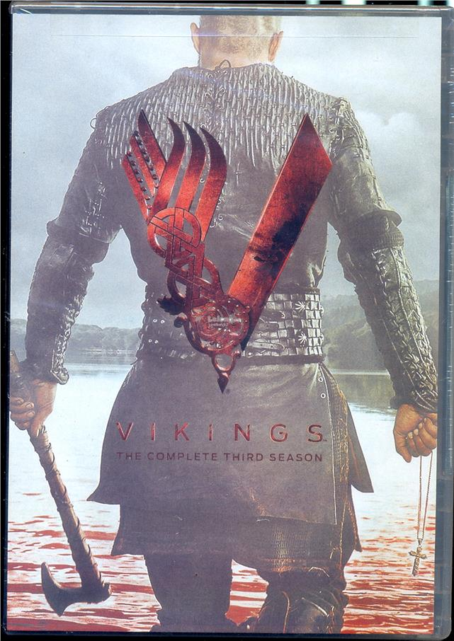 Vikings  The Complete Third Season - New DVD