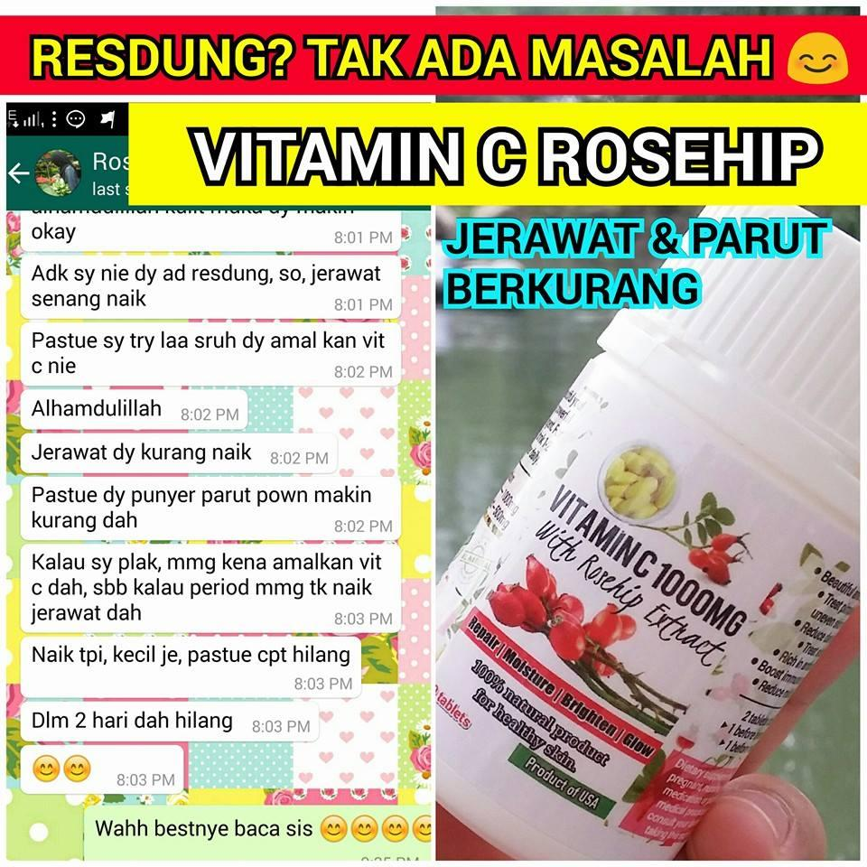 VITAMIN C ROSEHIP 1000MG